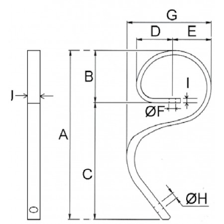 Cultivatortand type 1