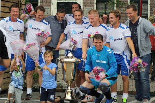 Pubcup 2015 Westwoud - kampioensteam Prodina